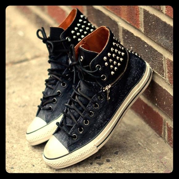 4b833cc1c1f81f Converse Shoes - CONVERSE X JOHN VARVATOS ZIP STUDDED CHUCK TAYLOR